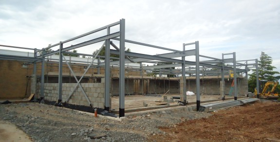 Steel Frame - July 2012