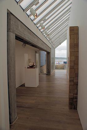 Pier Arts Centre gallery interior