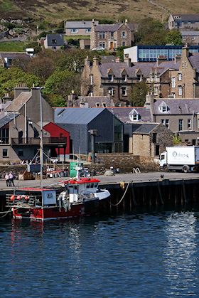 Pier Arts, Stromness from the ferry